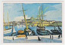 CP ART TABLEAU CHARLES CAMOIN Port de Marseille