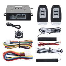 Universal Truck Alarm System Passive Keyless Entry Push Remote Engine Start/Stop