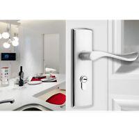 Türgriff Aluminum alloy Türdrücker Türklinke Türbeschlag WC Design Poliert Neu