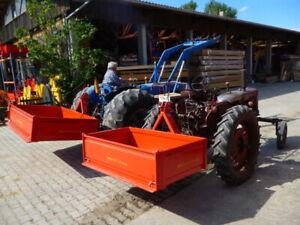 Heckschaufel, Heckcontainer, Transportbehälter, Traktorschaufel Allesch 160 x 90