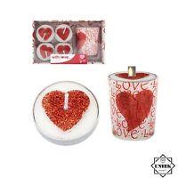Yankee Candle Love glass Votive Tealight Holder valentines wedding htf