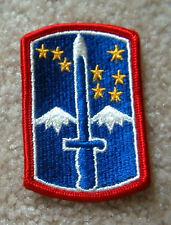 172nd Infantry Brigade patch