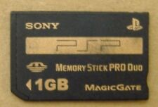 Genuine Sony PSP-MP1G 1 GB Memory Stick Pro Duo Magic Gate Play Station Portable