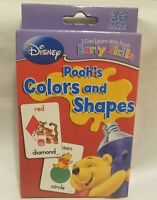 Disney's Winnie the Pooh Early Skills Cards Pooh's Colors and Shapes 36 Cards.