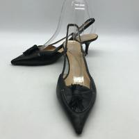 Kate Spade Black Slingback Heel 7