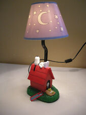 """Westland Snoopy Peanuts #8839 Doghouse 13"""" H Table Lamp *WORKS!"""