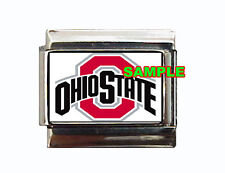 Ohio State Logo Custom Italian Charm