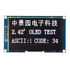 "2.42"" 12864 OLED Display Module IIC I2C SPI Serial FOR Arduino C51 STM32 WHITE"