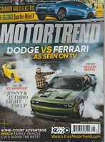 Motortrend Dodge vs Ferrari As Seen on TV May 2019