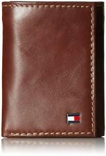 Tommy Hilfiger 31TL1108 Men's Trifold Wallet, Brown