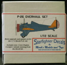 Starfighter Models 1/72 BOEING P-26 PEASHOOTER OVERHAUL SET Resin Conversion Set