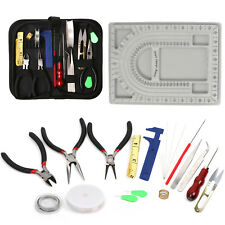 23Pcs Jewelry Making Tools Repair Kit Jewelry Pliers Beading Wire Set DIY Craft