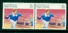 1989 Australian Decimal - Bowling - $0.02 - USED Sheet [6366]