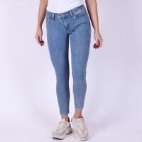 Levi's 535 Super Skinny Ankle hellblau Acid Damen cropped jeans W27