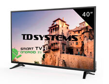 Televisores Led Full HD Smart 40 Pulgadas TD Systems K40DLM8FS. 3x HDMI, 2x USB