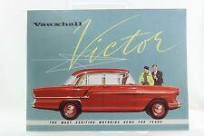 VINTAGE AUTOMOBILE CAR BROCHURE 1957 VAUXHALL VICTOR