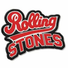 The Rolling Stones Team Logo Iron Sew On Clothing Badge Patch Decal Official