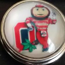 Ohio State University, style # 2, 18 mm,snap button USA Seller