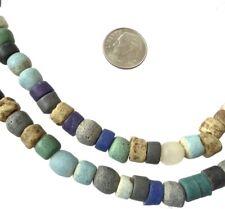 Assortment of Handmade Ghana Powder-Glass African Trade beads-Ghana