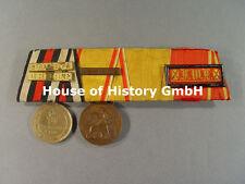 4er Ordensspange: KDM 1870/71, Baden Felddienst 1870-1871, Verdienstmedaille, DA