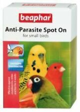 Beaphar SPOT ON acaro PIDOCCHI per uccellini budgies Canarie