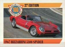 1967 Bizzarrini 5300 Spyder, Dream Cars Trading Card, Automobile -- Not Postcard