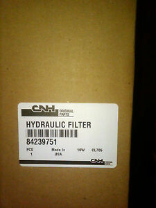CASE HYDRAULIC FILTER # -84239751 - FITS MANY CASE MODELS OEM