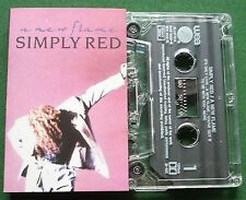 Simply Red A New Flame inc If You Don't Know Me By Now + Cassette Tape - TESTED