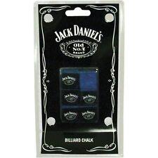 Jack Daniels Pool Cue Billiard Chalk 6 Pieces