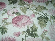 King/Queen Peony Quilt and Shams-Reversible New 92x105 All Cotton