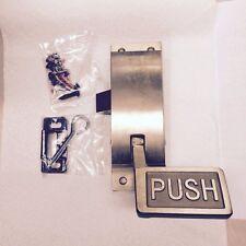 RIGHT SIDE Panic Latch - Push Bar Exit/Regress - Brass Door Latch