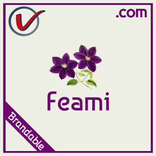 Feami.com | Pronounceable And Brandable LLLLL COM Domain Name 5 Letter 5L