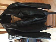 neue ungetragene Lederjacke Gr. XL , Bikerjacke, Retro, Vintage, echtes Leder