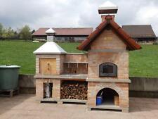 Holzbackofen Pizzaofen Grill Steinofen Bauanleitung mit Plänen vom Architekten
