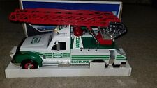 Hess 1994 Rescue Truck siren Horn Back-Up Working Head & Tail Lights w Box New