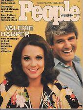 People Magazine September 15 1975  Valerie Harper  General patton  VG  NO LABEL