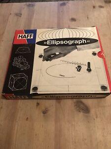 Vintage HAFF Ellipsograph Boxed.