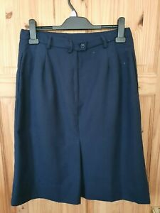 Women's Uniform Police Officer Army Forces Pilot Stewardess Navy Blue Skirt UK14