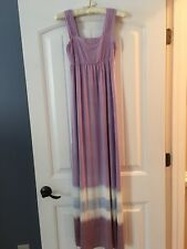 Green Dragon Made In USA Womens Long Purple Dress New