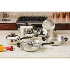 17pc Stainless Steel Cookware Set KT172-1