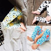 Newborn Baby Boy Girl Long Harem Pants Casual Trousers Leggings Clothes 0-24M UK