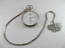 Chronograph reloj de bolsillo cronómetro reloj pocket watch rare raras