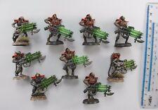 9 Imotekh Inmortales Necrones Inmortales ejército bien pintados de plástico Warhammer 40K 47