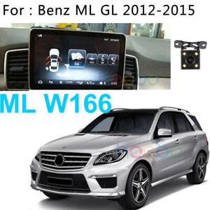 Android 10 Car GPS Radio Navi For Mercedes Benz ML GL Class ML W166 2012-2015