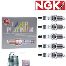 5 - NGK Laser Platinum Plug Spark Plugs 2007-2009 Hummer H3 3.7L L5 Kit Set
