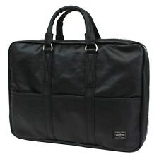 New PORTER FREE STYLE BRIEF CASE 707-08210 BLACK From JP