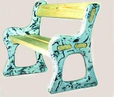 """Plastic molds for concrete """"Benches"""" for garden Plaster Stone Tiles Hard Plastic"""