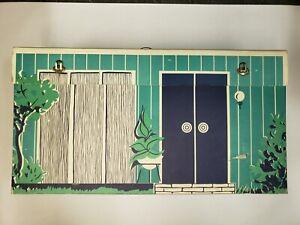 1962 Barbie's First Dream House Cardboard W/ Furniture & Accessories #816