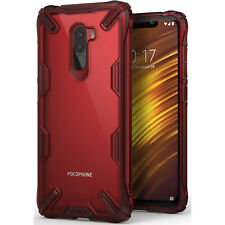 Ringke Fusion X Tough Rear Case Cover for XIAOMI Pocophone F1 - Ruby Red / Clear