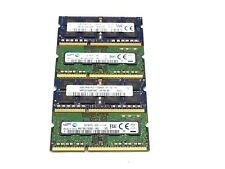 Mixed Lot of 10 - 4GB Memory Laptop RAM 12800s 10600s